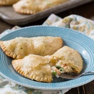 Chicken Pot Pie Turnovers - Spicy Southern Kitchen