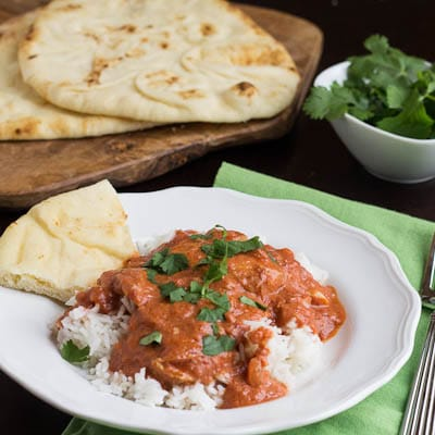 slow cooked chicken tikka masala