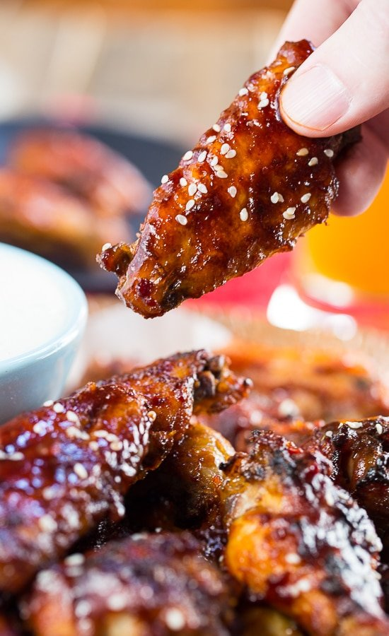 Crock Pot Sweet and Spicy Sticky Wings