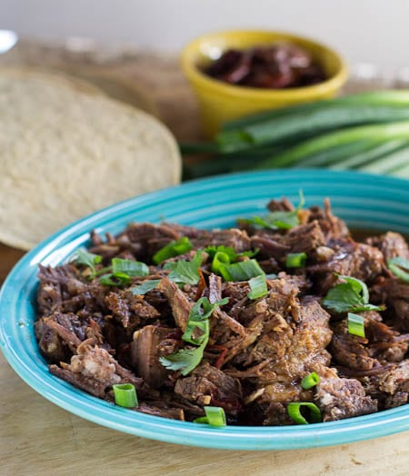 Chipotle Beef for tacos