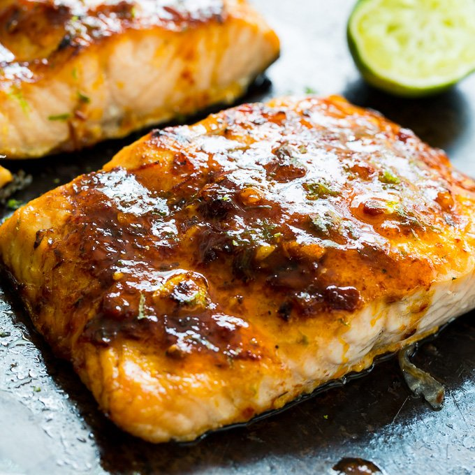 Chipotle Lime Salmon