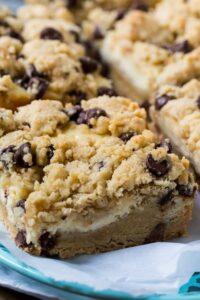 Tricia Yearwood's Chocolate Chip Cheesecake Bars