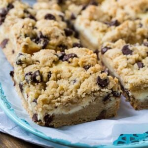 Tricia Yearwood's Chocolate Chip Cheesecake Bars