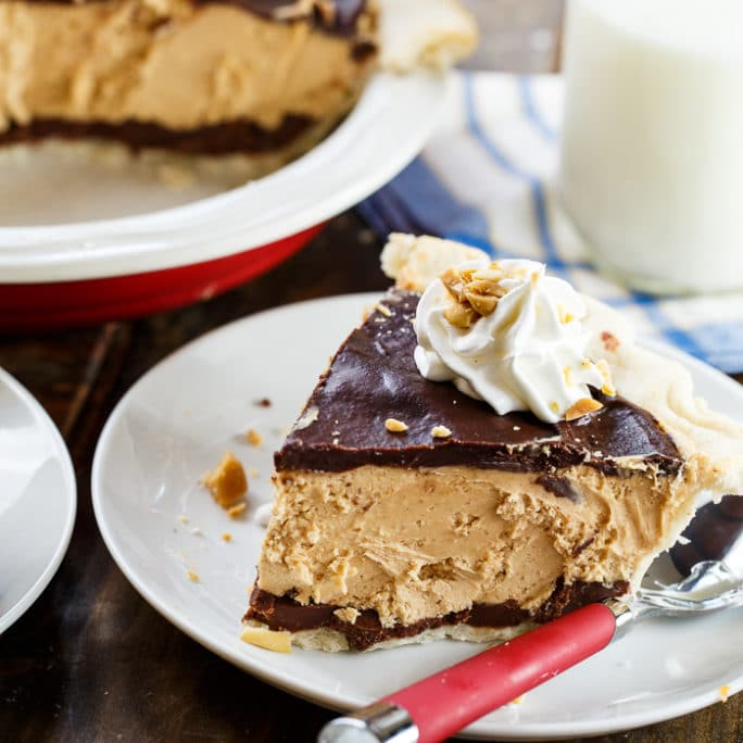 Chocolate Peanut Butter Pie - Spicy Southern Kitchen