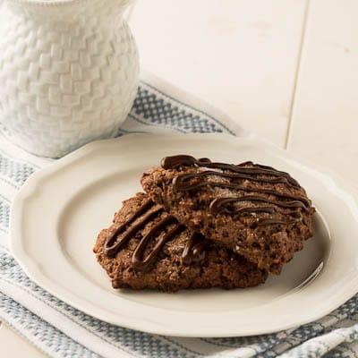 Chocolate Applesauce Scones