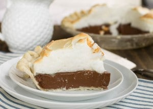 Old-Fashioned Chocolate Meringue Pie
