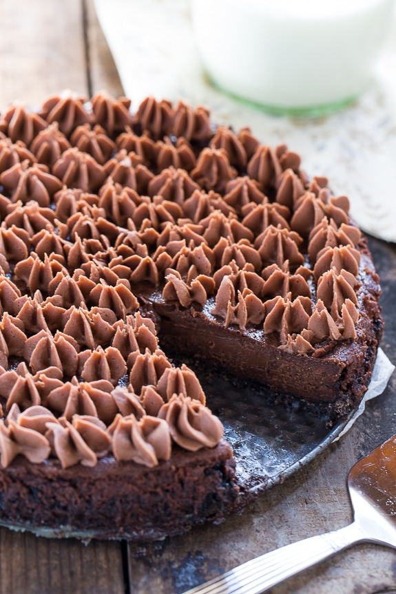 Chocolate Velvet Dessert - this tart is chocolate heaven!