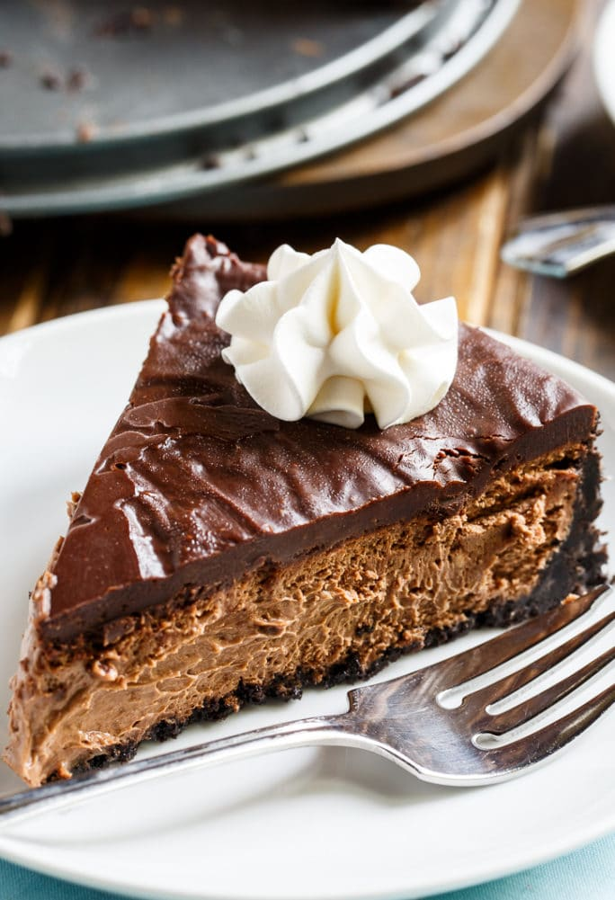 Perfect Chocolate Cheesecake