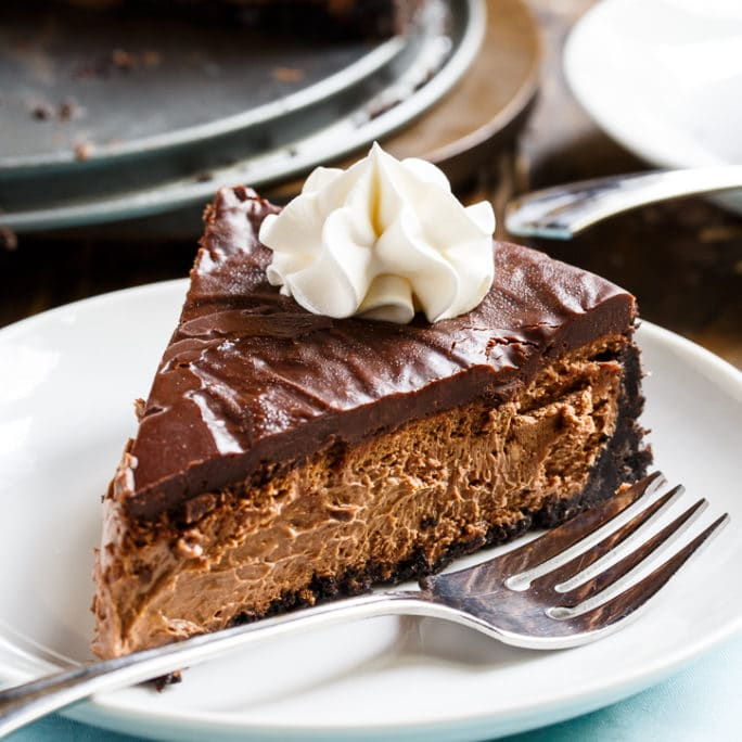 This Chocolate Cheesecake is just the thing to satisfy your chocolate ...