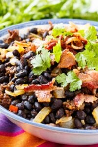 Chorizo Black Beans