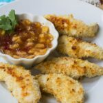 Coconut Macadamia Chicken Fingers