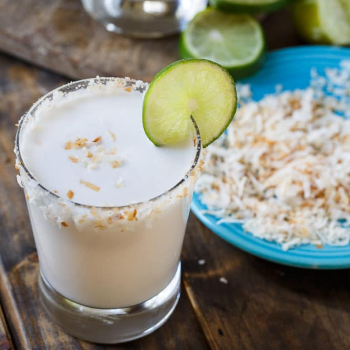 Coconut Margarita - Spicy Southern Kitchen