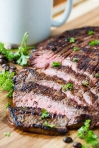 Coffee and Soy Marinated Steak