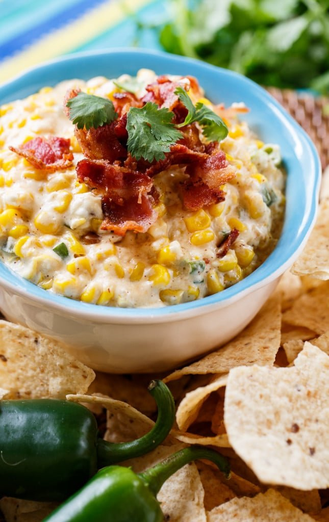Slow Cooker Corn Salsa. Dump all ingredients in the crock pot and 2 hours later you have a warm and cheesy dip. Perfect for game day!
