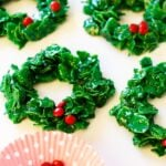 Cornflake Christmas Wreaths