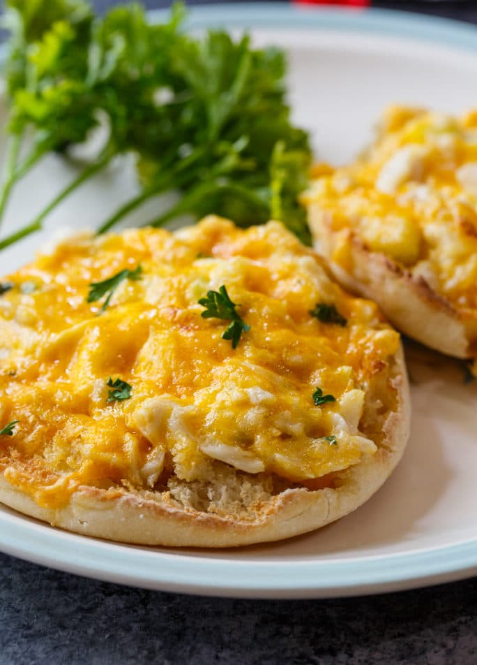 Crab Melts with TABASCO Sauce