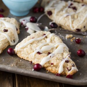 Cranberry-White Chocolate Scones