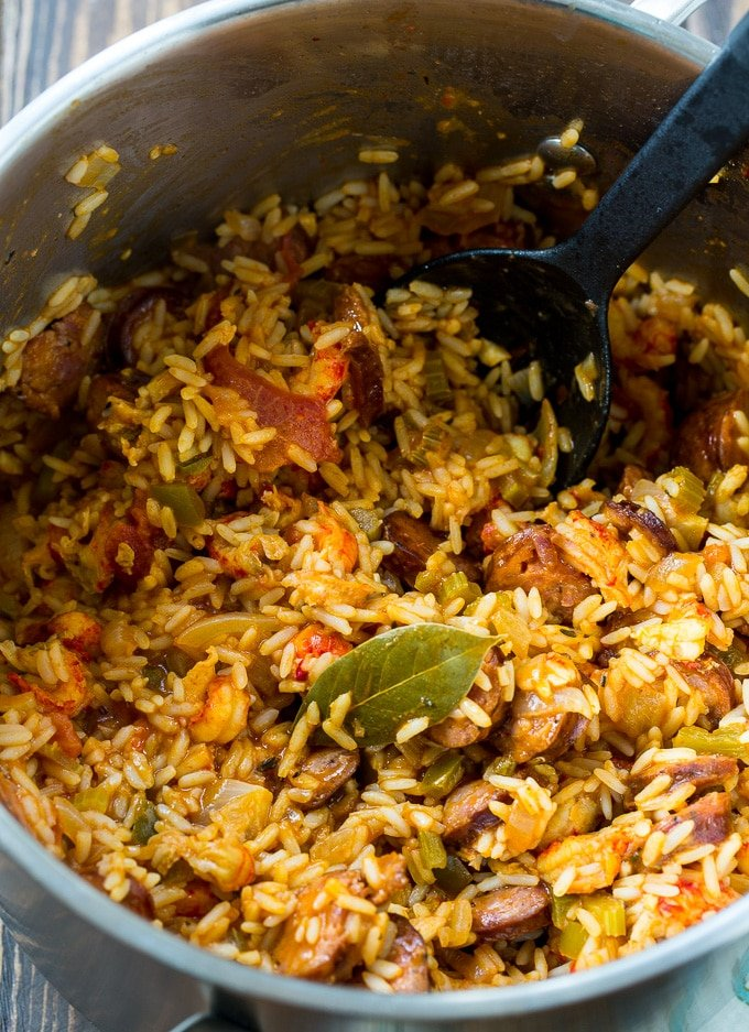 Crawfish Jambalaya