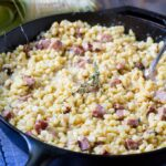 Creamed Corn with Smoked Sausage