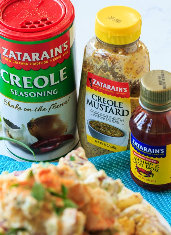 Creole Potato Salad with Zatarain's