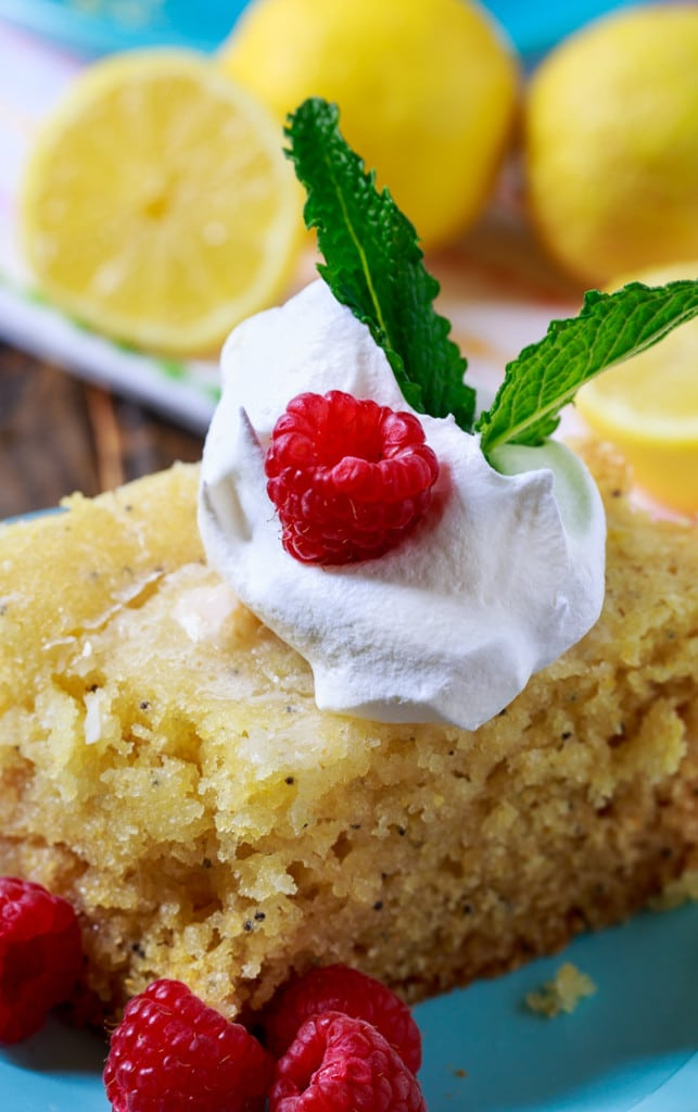 Slow Cooker Lemon Cake. This crock pot cake is moist and has lots of fresh lemon flavor.
