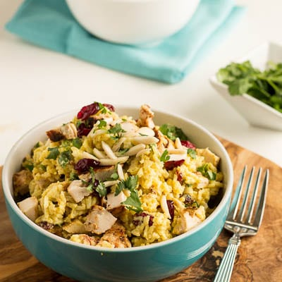 Curried Rice Salad - Spicy Southern Kitchen