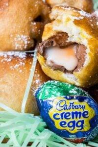 Deep Fried Cadbury Creme Eggs