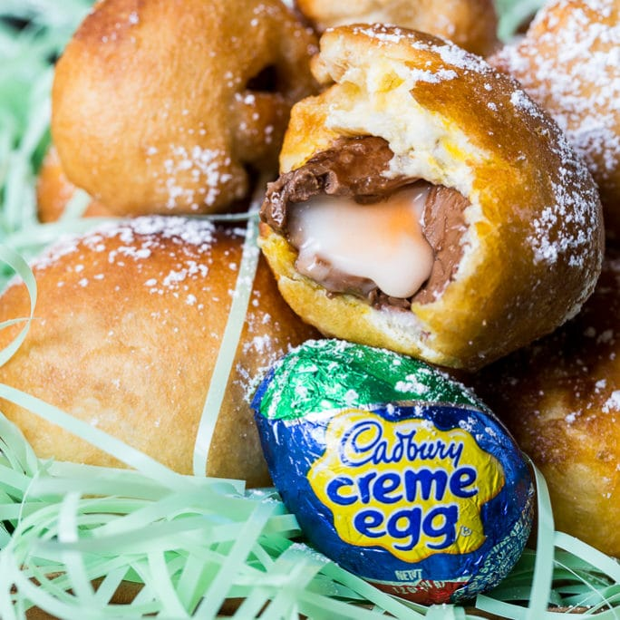 Deep Fried Cadbury Creme Eggs