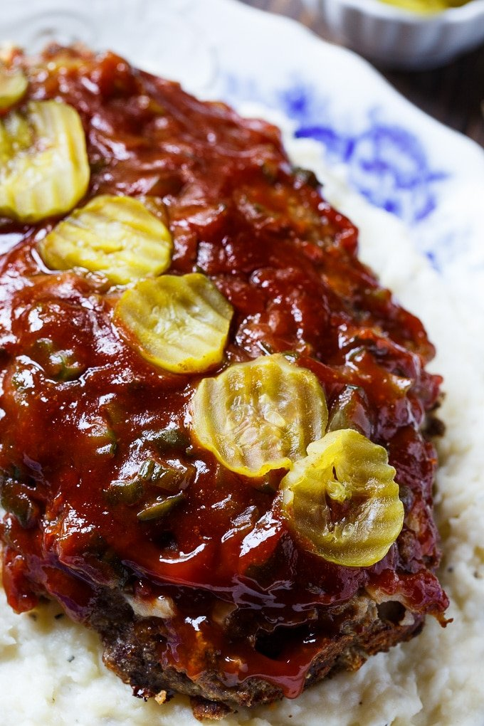 Dill Pickle Meatloaf recipe