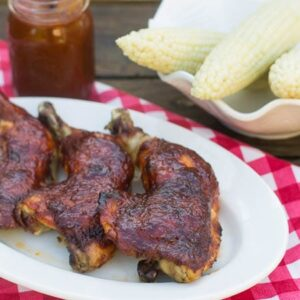 Oven Barbecued Dr. Pepper Chicken