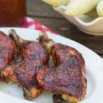 Oven Barbecued Chicken with Dr. Pepper Sauce