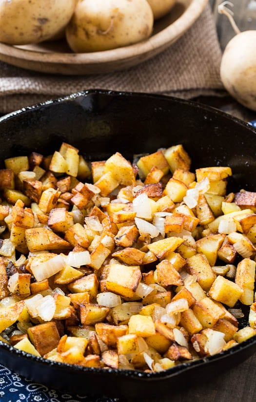 Duck Fat Hash Browns