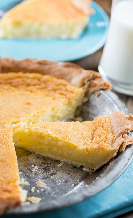 Old Fashioned Southern Egg Pie