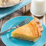 Old-Fashioned Egg Custard Pie