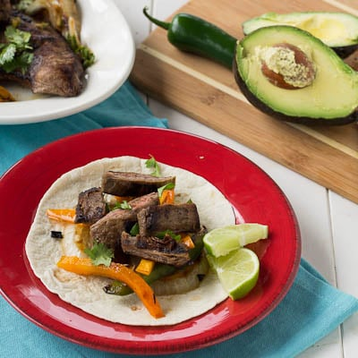 Grilled Skirt Steak Fajitas - Spicy Southern Kitchen