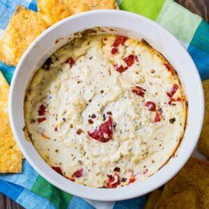 Spicy Warm Feta Cheese Dip