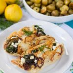 Spinach-Feta Stuffed Chicken
