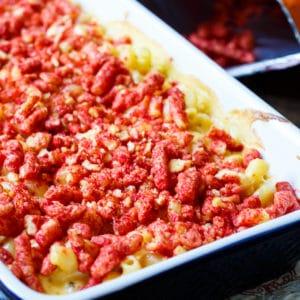 Flamin Cheeto Mac and Cheese