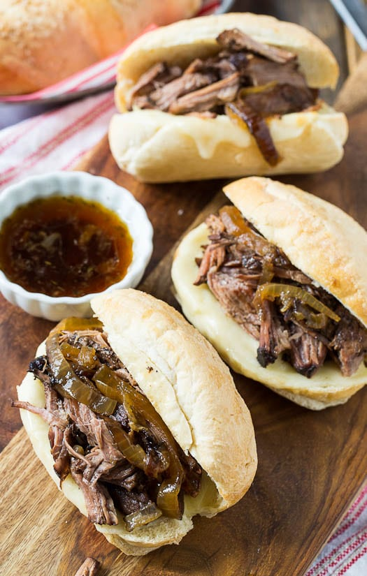Crock Pot French Dip Sandwich #slowcooker