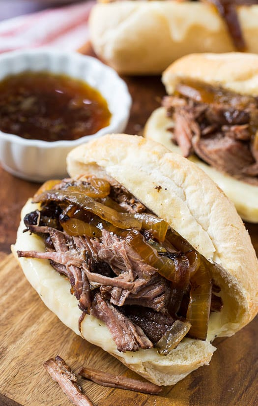 Crock Pot French Dip Sandwiches - so flavorful!