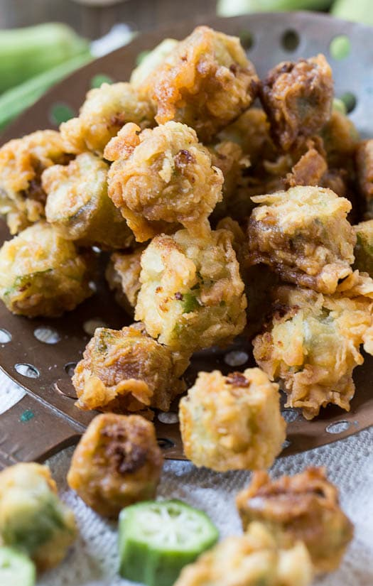 Southern Fried Okra Recipe - Spicy Southern Kitchen