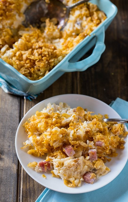 Funeral Potatoes with Ham