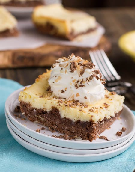 German Chocolate Cheesecake Brownies