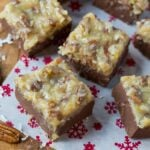 German Chocolate Fudge #Christmas