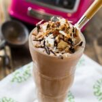 German Chocolate Milkshake