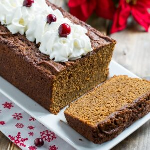 Sweet and Spicy Gingerbread. Some black pepper and other spices really give this gingrebread a kick.