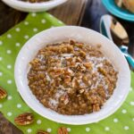 Gingerbread Oatmeal