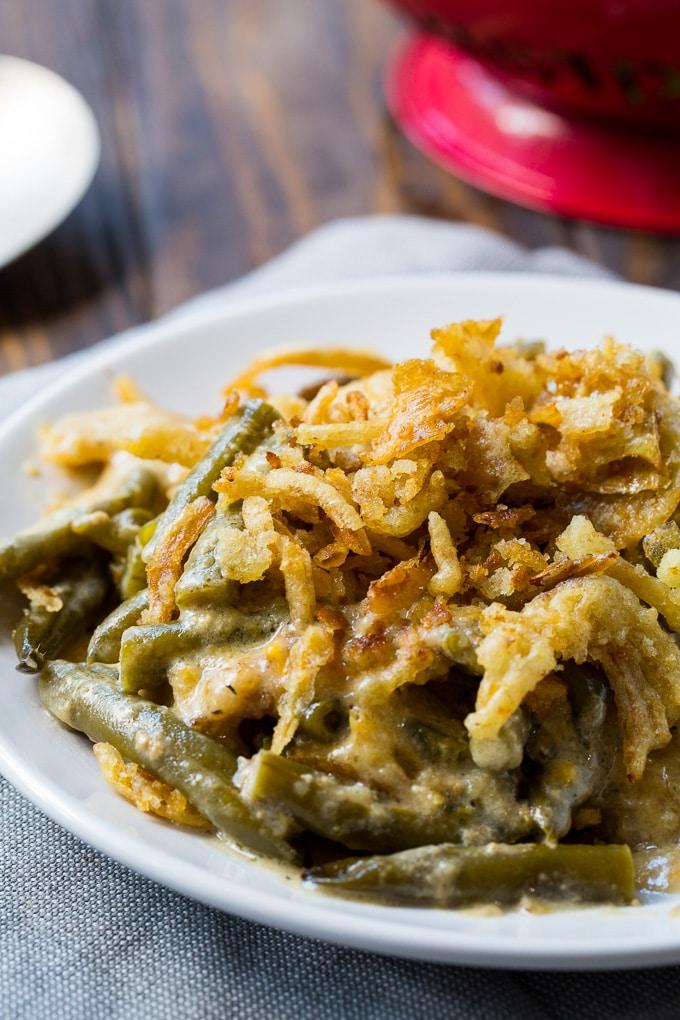 Slow Cooker Green Bean Casserole recipe