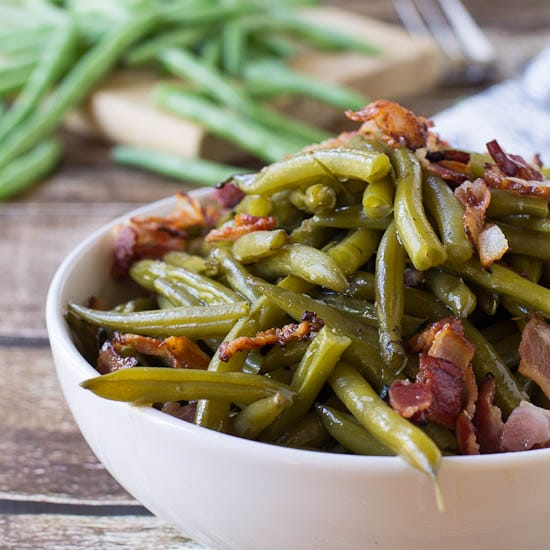 Southern-Style Green Beans | Yummy Soul Food Recipes | A Selection Of Satisfying Southern Goodness | authentic soul food recipes