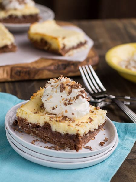 German Chocolate Cheesecake Brownie